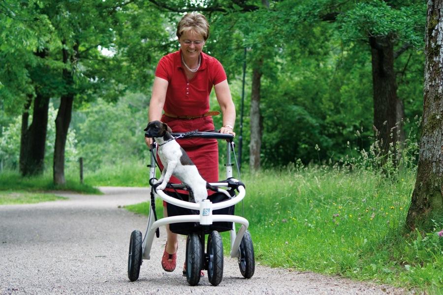 Nye muligheder med en off-road rollator