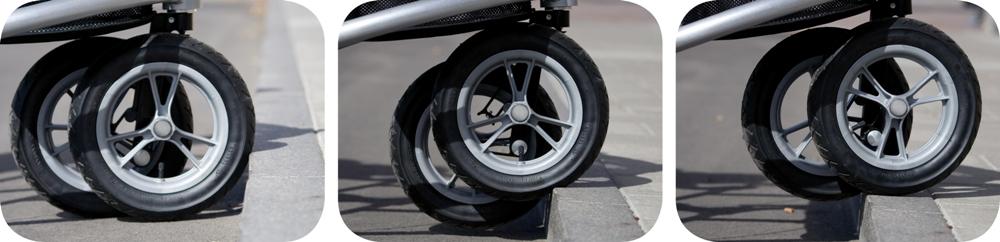 Trionic Veloped med klatre-hjul