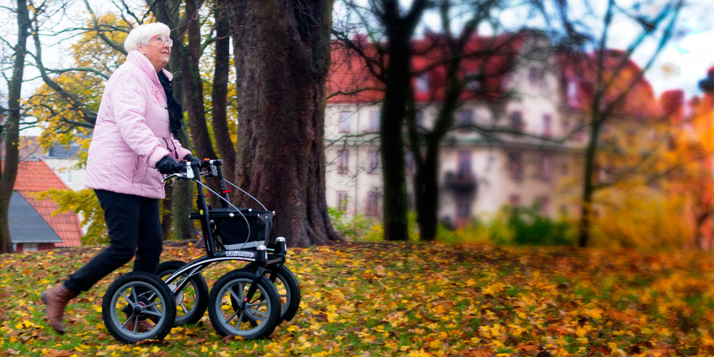 Trionic Walker Off-road rollator